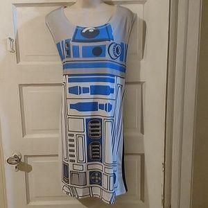 Star Wars Her Universe R2D2 Sleeveless Dress XL